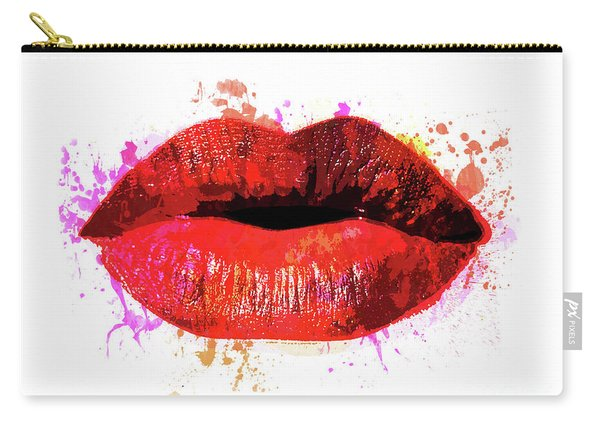 Red Kiss 8x10 Carry-all Pouch