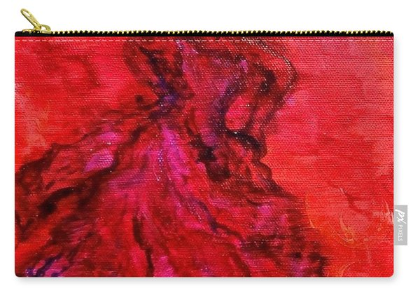 Red Lady Carry-all Pouch