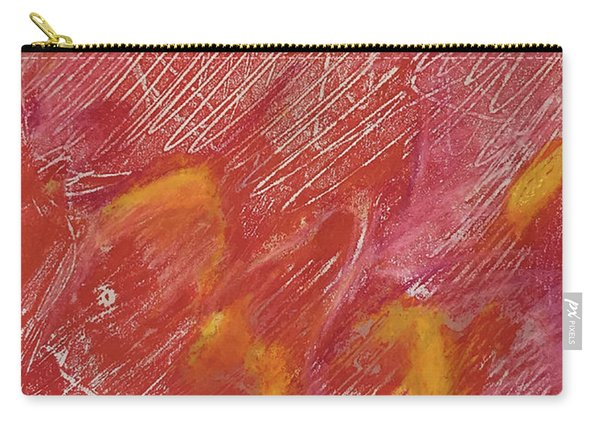 Red Monoprint One Carry-all Pouch