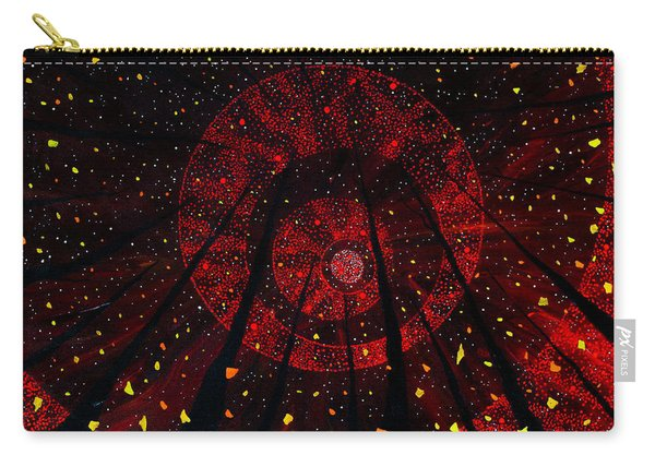 Carry-all Pouch featuring the painting Red October by Joel Tesch