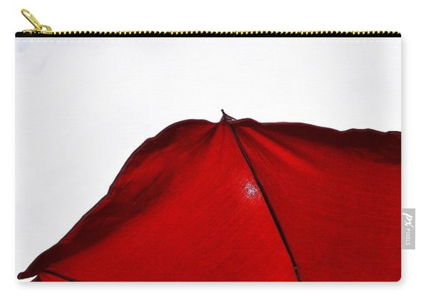 Red Parasol Carry-all Pouch
