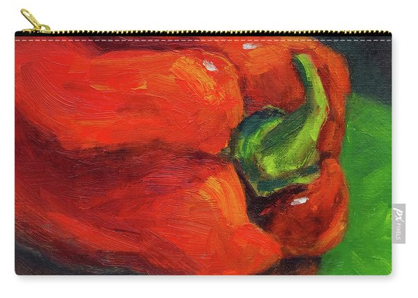 Red Pepper Still Life Carry-all Pouch