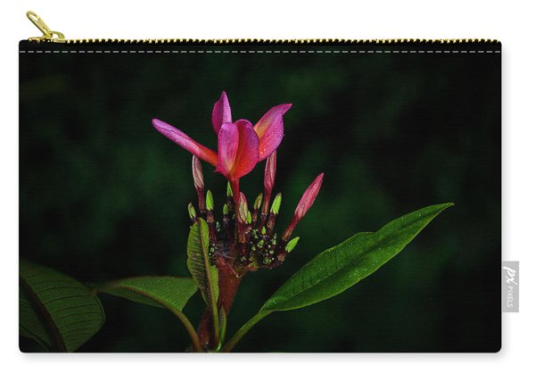 Red Plumeria Carry-all Pouch