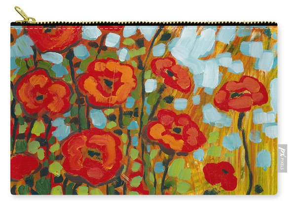 Red Poppy Field Carry-all Pouch