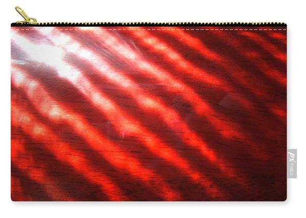Red Rhythm Photograph Carry-all Pouch