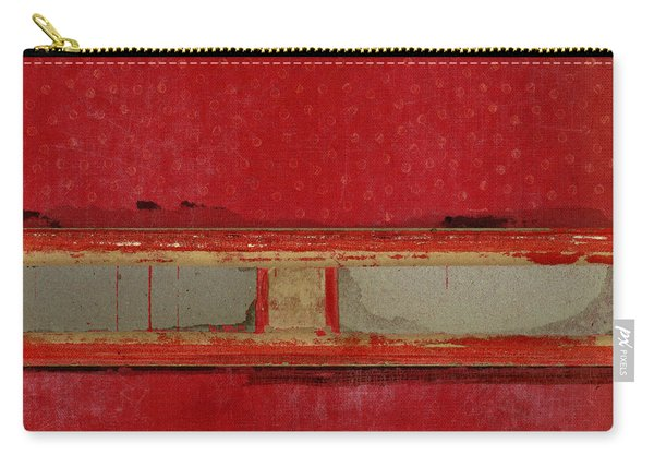 Red Riley Collage Carry-all Pouch