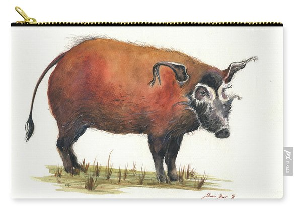 Red River Hog Carry-all Pouch