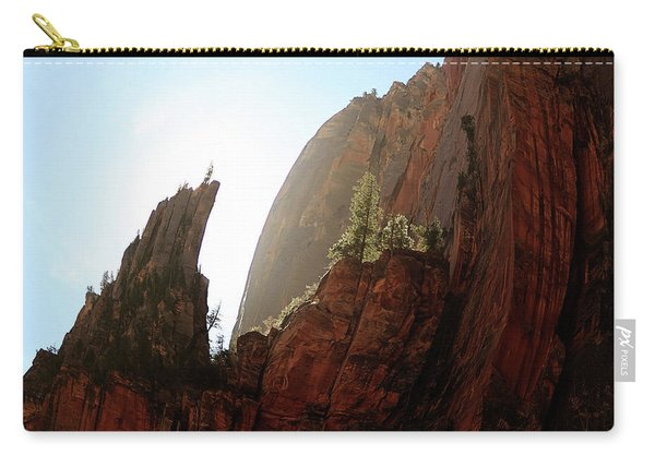 Red Rock At Zion Carry-all Pouch