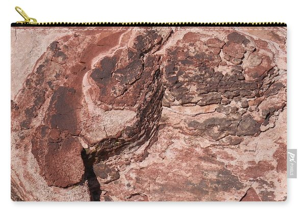 Carry-all Pouch featuring the photograph Red Rock  by Christy Pooschke