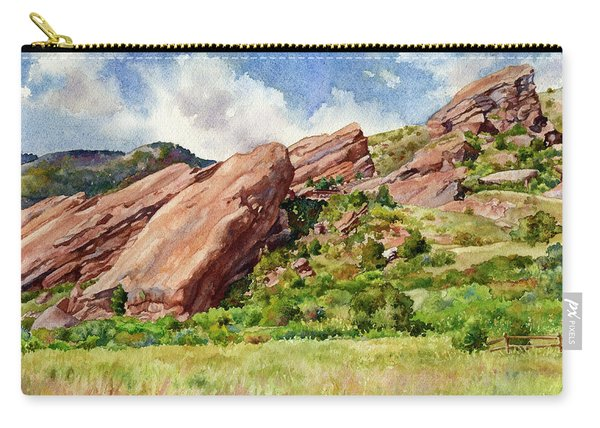 Red Rocks Amphitheatre Carry-all Pouch