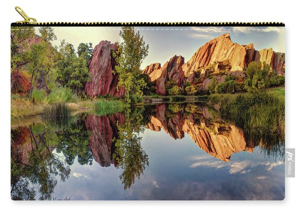 Red Rocks Reflection Carry-all Pouch