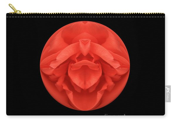 Red Rose Sphere Carry-all Pouch