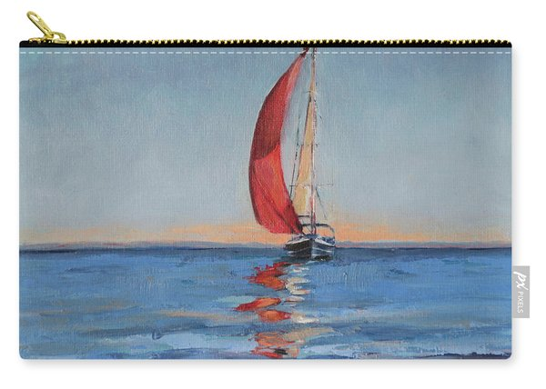 Red Sail Early Sunset Carry-all Pouch