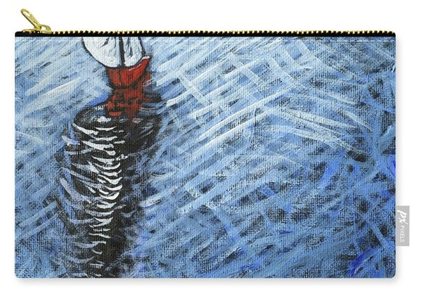 Red Sailboat Carry-all Pouch