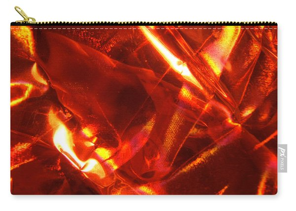 Red Satin Universe Photograph Carry-all Pouch