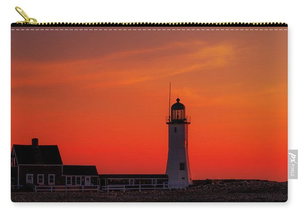 Red Sky In The Morning Carry-all Pouch
