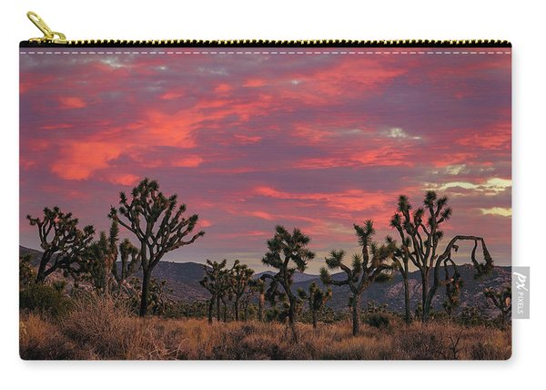Red Sky Over Joshua Tree Carry-all Pouch