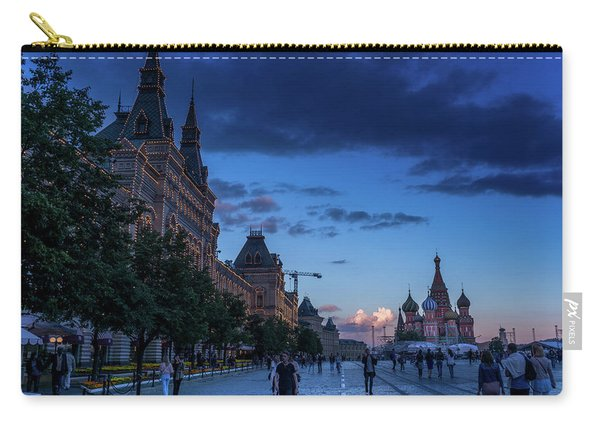 Red Square At Dusk Carry-all Pouch