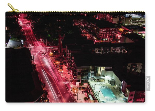 Red Streets Carry-all Pouch