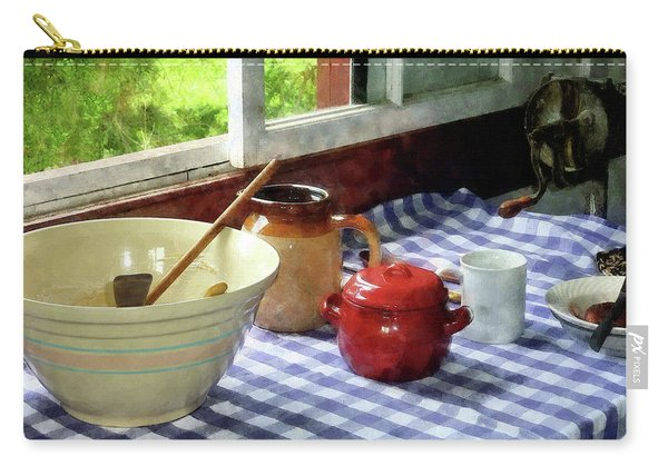 Red Sugar Bowl Carry-all Pouch