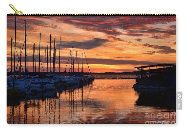 Red  Sunrise Carry-all Pouch