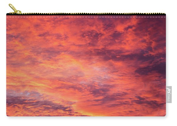 Red Sunset Sky Carry-all Pouch