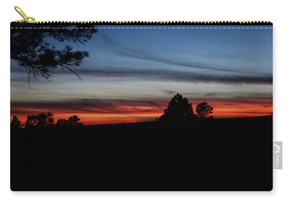 Carry-all Pouch featuring the photograph Red Sunset Strip by Jason Coward