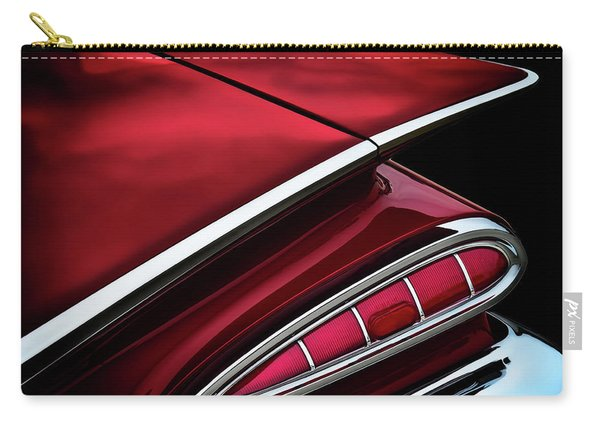Red Tail Impala Vintage '59 Carry-all Pouch