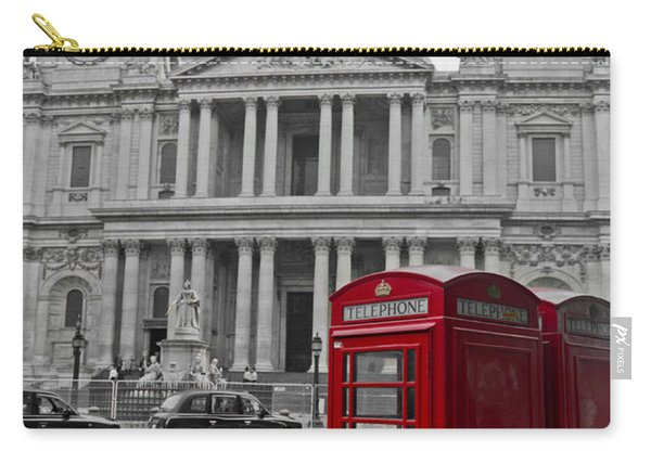 Red Telephone Boxes In London Carry-all Pouch