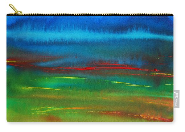 Red Tide Abstract Carry-all Pouch