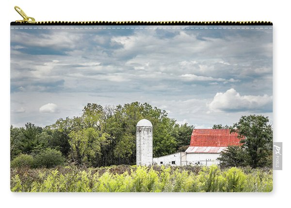 Red Tin Roof Carry-all Pouch