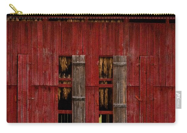 Red Tobacco Barn Carry-all Pouch
