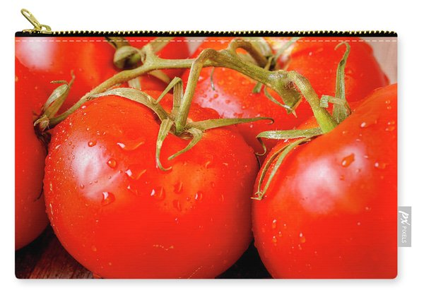 Red Tomatoes On The Vine Carry-all Pouch