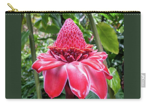 Red Torch Ginger Flower Carry-all Pouch