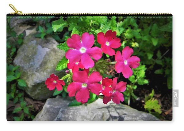 Red Verbena Carry-all Pouch