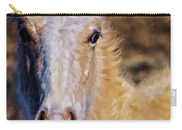 Red Willow Pony Carry-all Pouch