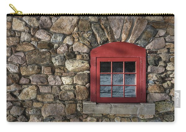 Red Window Carry-all Pouch