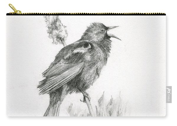 Red-winged Blackbird Carry-all Pouch
