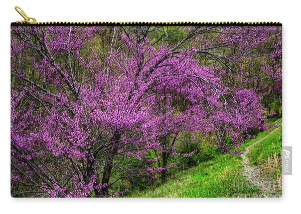 Redbud And Path Carry-all Pouch