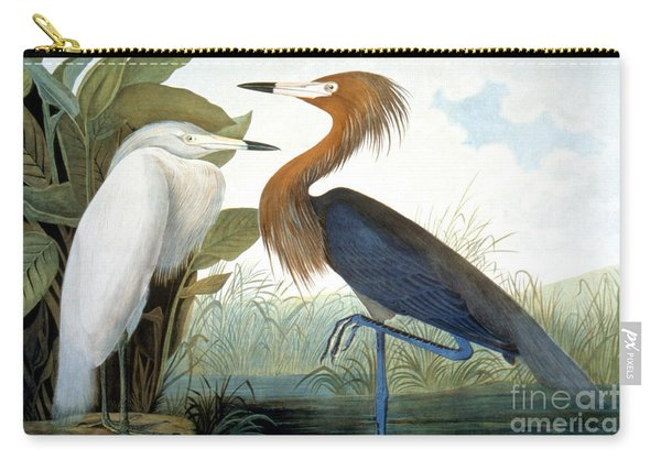 Reddish Egret, Carry-all Pouch