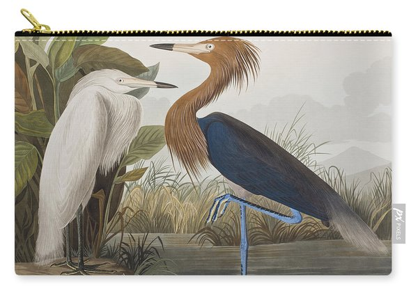 Reddish Egret Carry-all Pouch