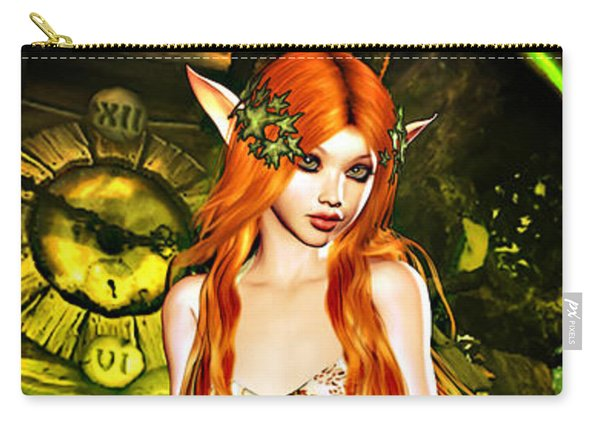 Redhead Forest Pixie Carry-all Pouch