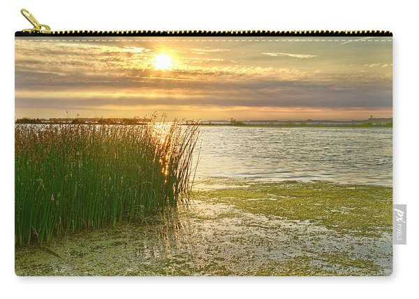Reeds In The Sunset Carry-all Pouch