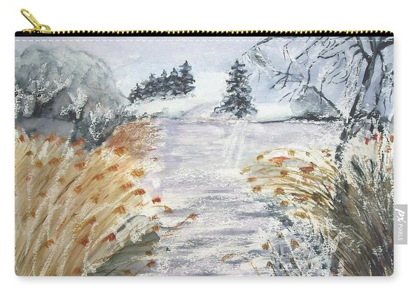 Reeds On The Riverbank No.2 Carry-all Pouch