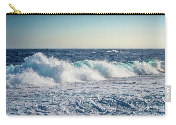 Reef Break On The Morning Light Carry-all Pouch