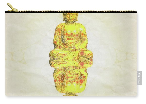 Reflect The Buddha By Mary Bassett Carry-all Pouch