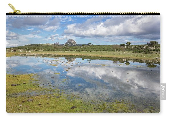 Reflected Mountains Carry-all Pouch
