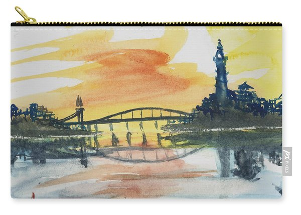 Reflecting Bridge Carry-all Pouch