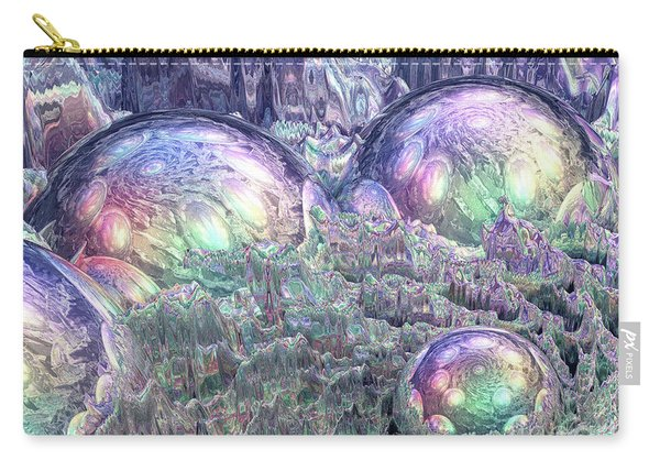 Reflecting Spheres In Space Carry-all Pouch