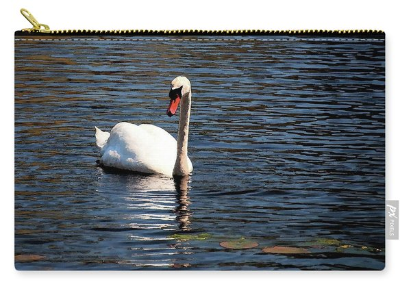 Reflecting Swan Carry-all Pouch